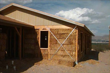 Tierra madre a community of straw bale homes for Straw bale house cost per square foot